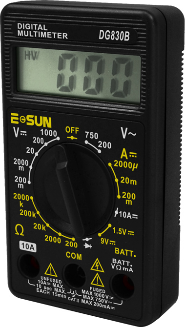 Picture of DG830B, DIGITAL MULTIMETER