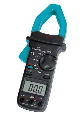 Picture of EM201, DIGITAL AC CLAMP METER