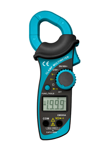 Picture of EM305A, ETL marking DIGITAL CLAMP METER