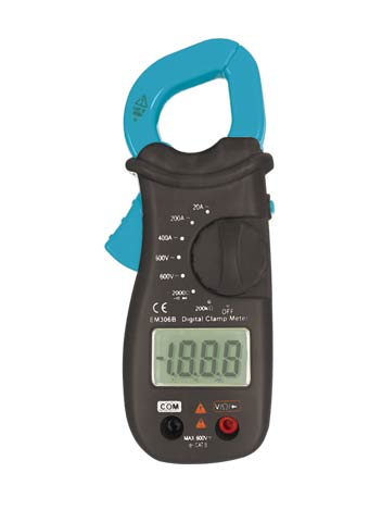 Picture of EM306A, ACV/DCV/ACA/Ω/diode, Mini Size Digital Clamp Meter