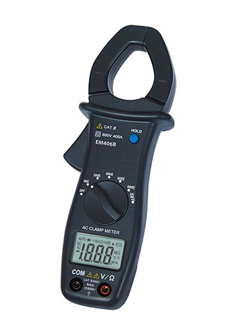 Picture of EM406B, Digital AC Clamp Meter