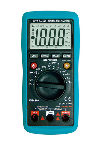 Picture of EM420A, ETL marking, Digital Multimeter