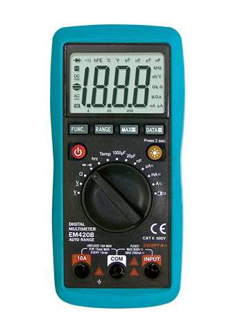 Picture of EM420B, ETL marking, Digital Multimeter