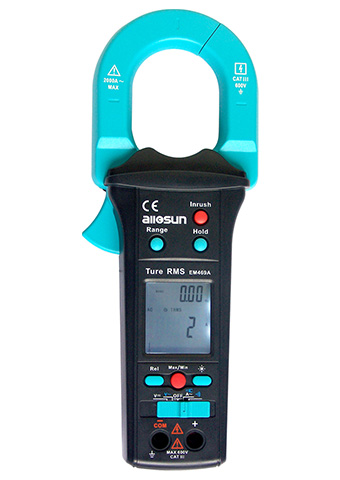 Picture of EM469A, TRUE RMS CLAMP METER