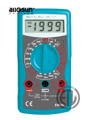 Picture of EM495, ETL marking, DIGITAL MULTIMETER