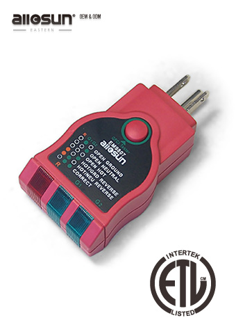 Picture of EM9807, ETL marking, SOCKET TESTER