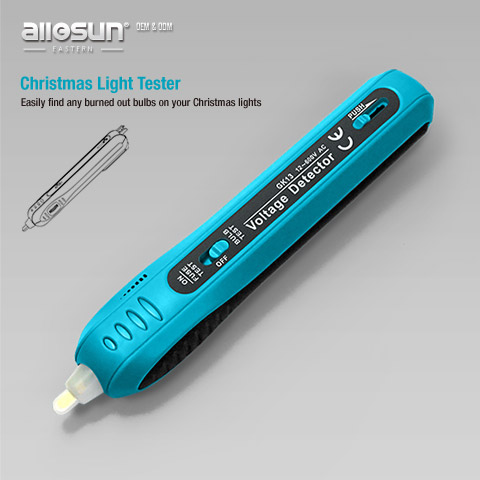 ... >> Voltage Tester >> GK13, Christmas Light Tester & Voltage Tester